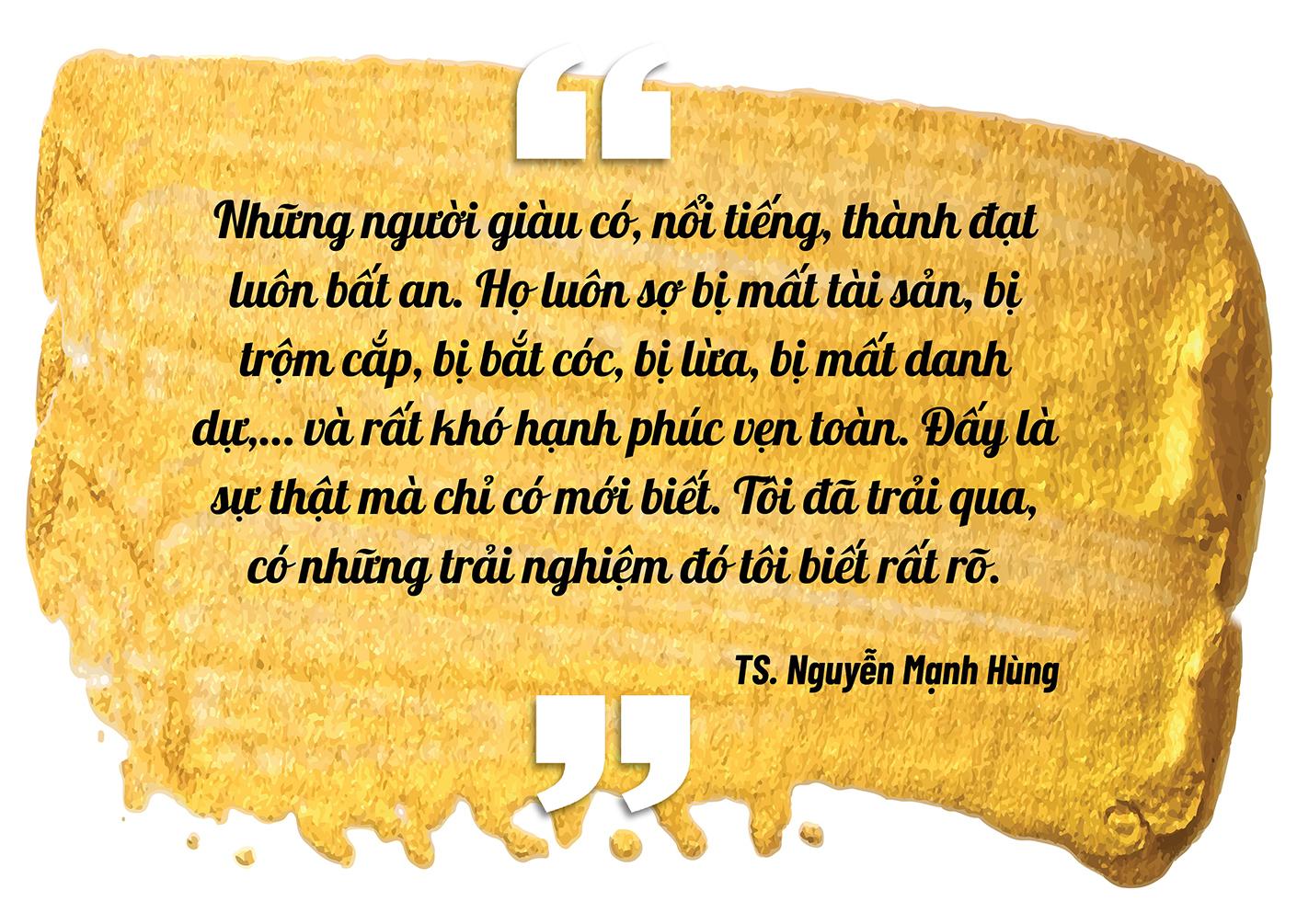 """Đại gia đi tu Nguyễn Mạnh Hùng: """"Nhiều người giàu có, nổi tiếng, thành đạt luôn bất an, tôi trải qua nên biết điều đó"""" - Ảnh 5."""