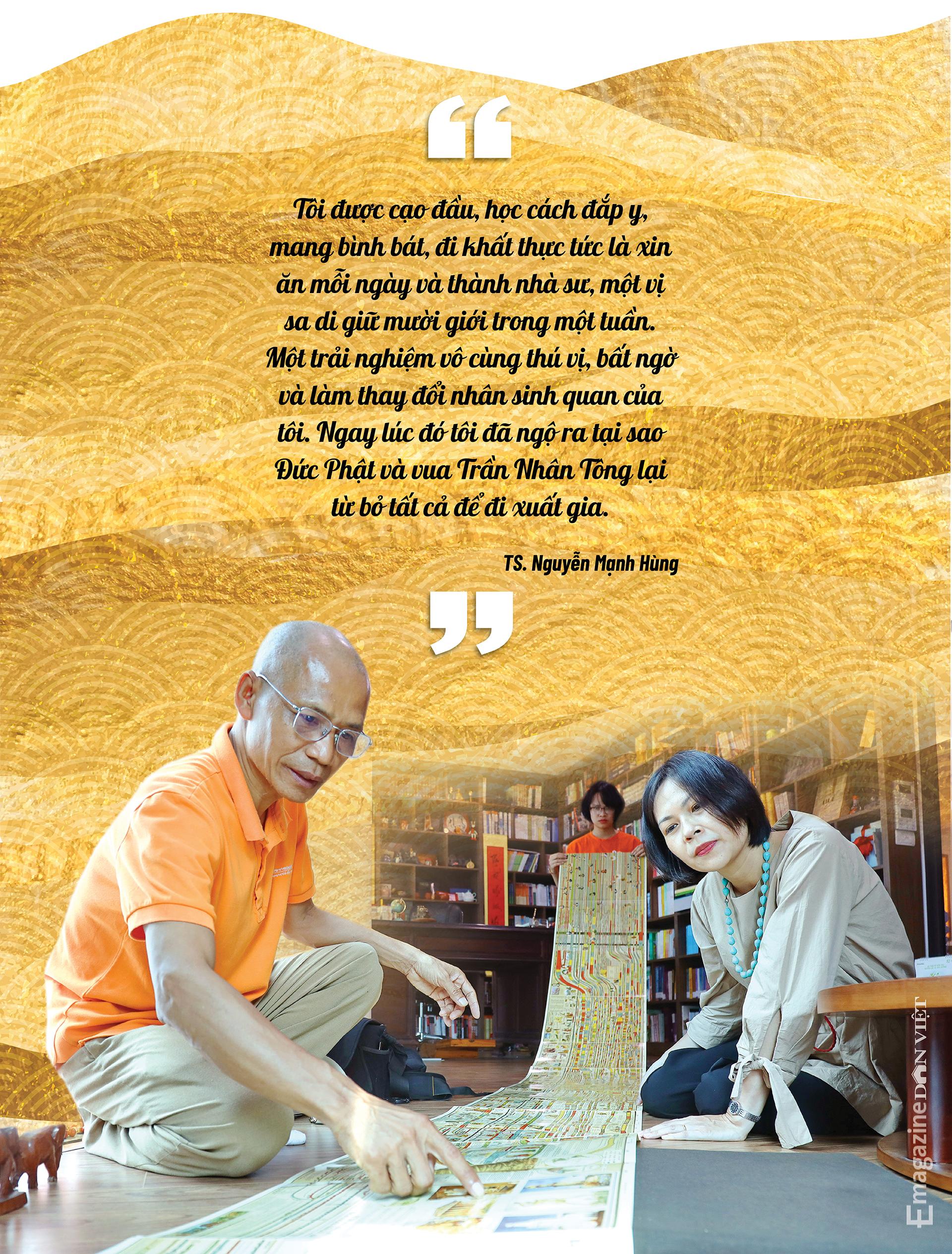 """Đại gia đi tu Nguyễn Mạnh Hùng: """"Nhiều người giàu có, nổi tiếng, thành đạt luôn bất an, tôi trải qua nên biết điều đó"""" - Ảnh 12."""