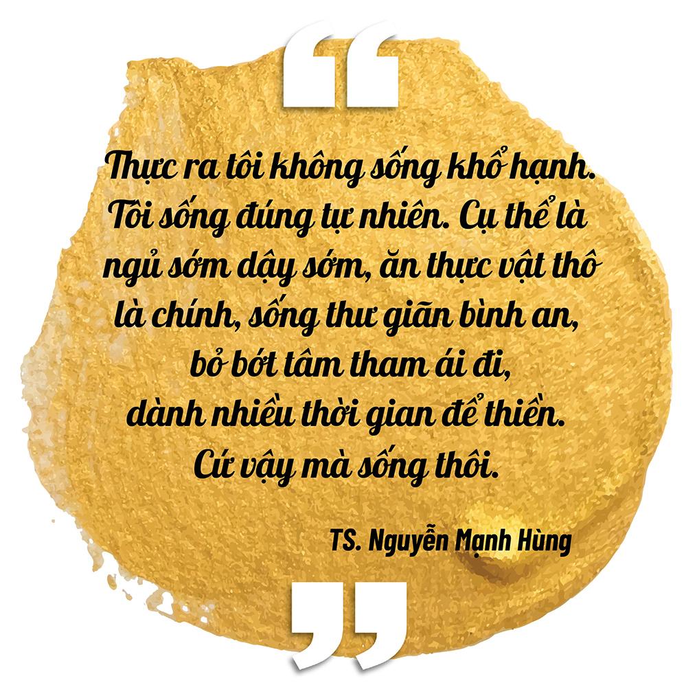 """Đại gia đi tu Nguyễn Mạnh Hùng: """"Nhiều người giàu có, nổi tiếng, thành đạt luôn bất an, tôi trải qua nên biết điều đó"""" - Ảnh 13."""
