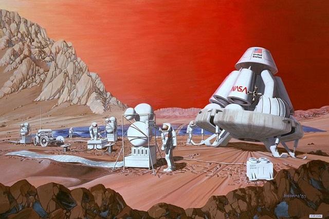 Tinh trùng sống khỏe trên sao Hỏa tới 200 năm, con người có thể lên hành tinh Đỏ sinh con - Ảnh 1.