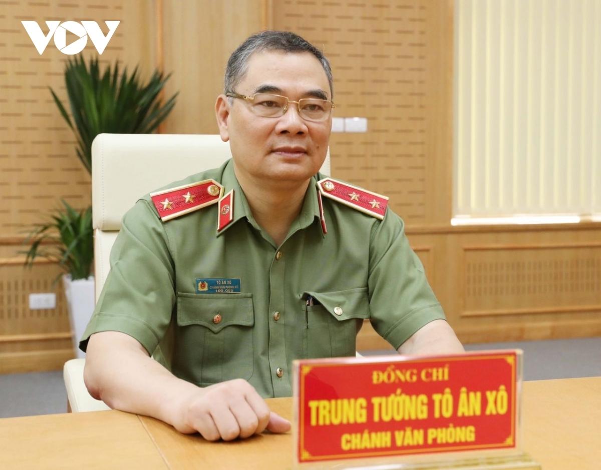 Trung tướng Tô Ân Xô: Đã xác định nhóm nghi phạm tấn công Báo Điện tử VOV - Ảnh 1.