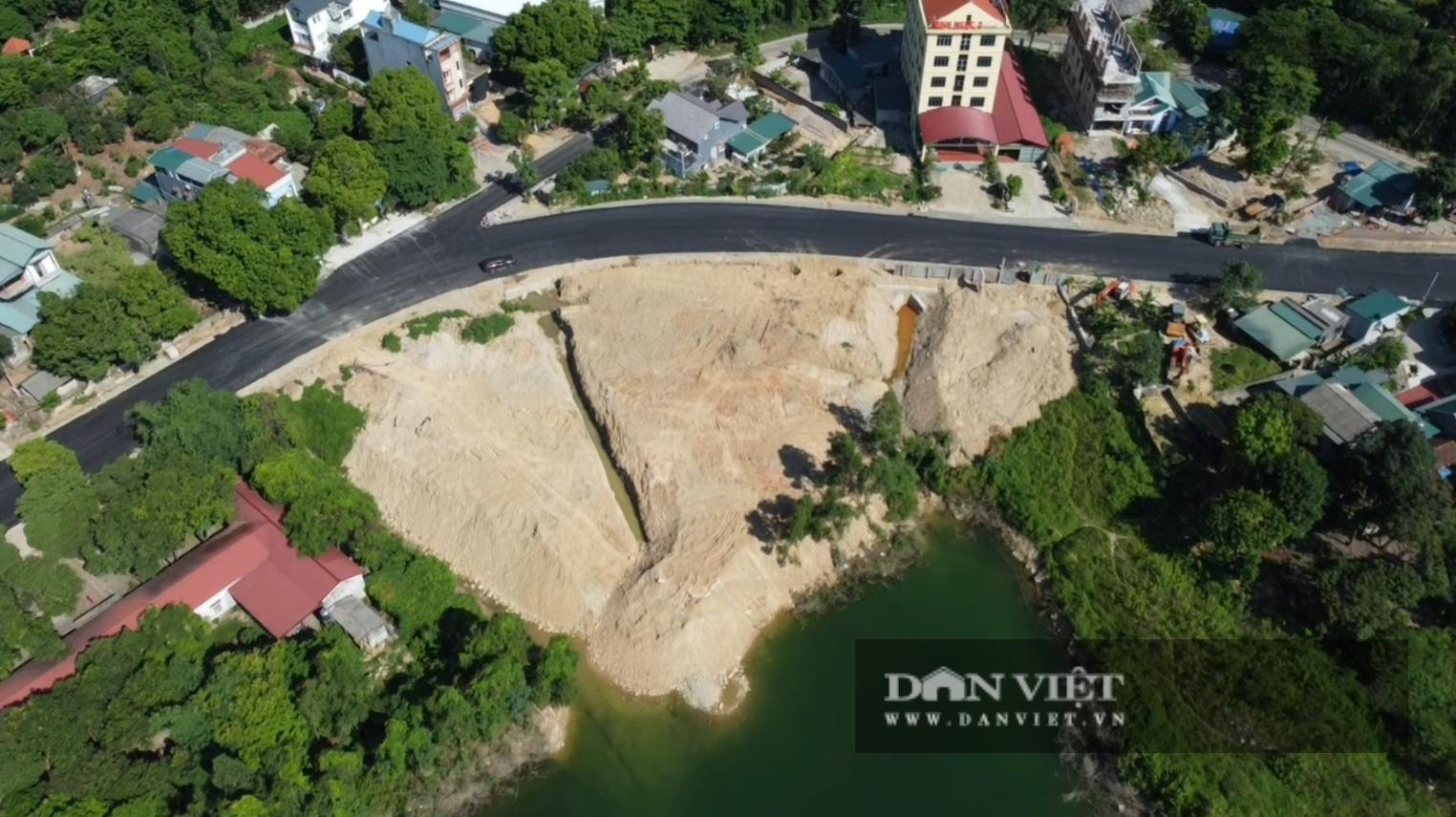 Tam Đảo (Vĩnh Phúc): Hồ thủy lợi Làng Hà bị xâm lấn nghiêm trọng - Ảnh 2.