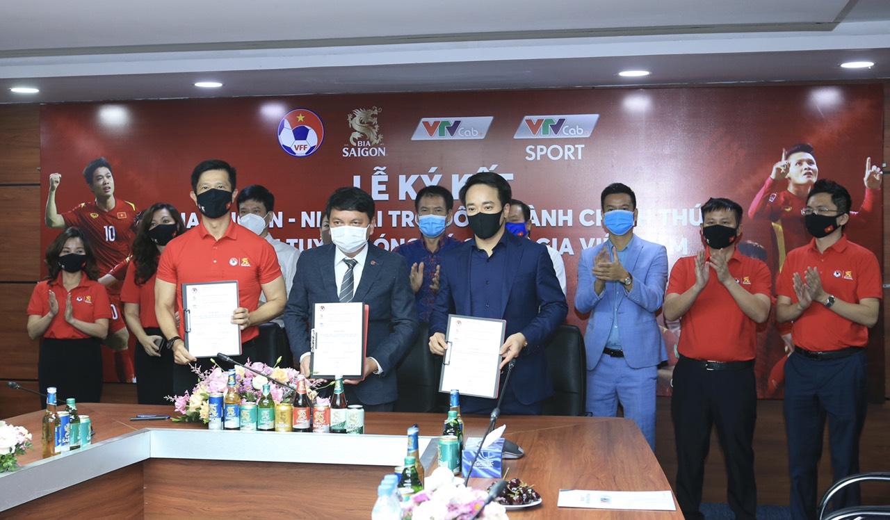Sau kỳ tích UAE, ĐT Việt Nam có thêm tài trợ - Ảnh 1.