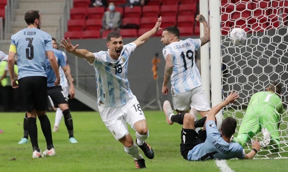 Kết quả, BXH Copa America 2021: Messi tịt ngòi, Argentina vẫn thắng Uruguay - Ảnh 1.