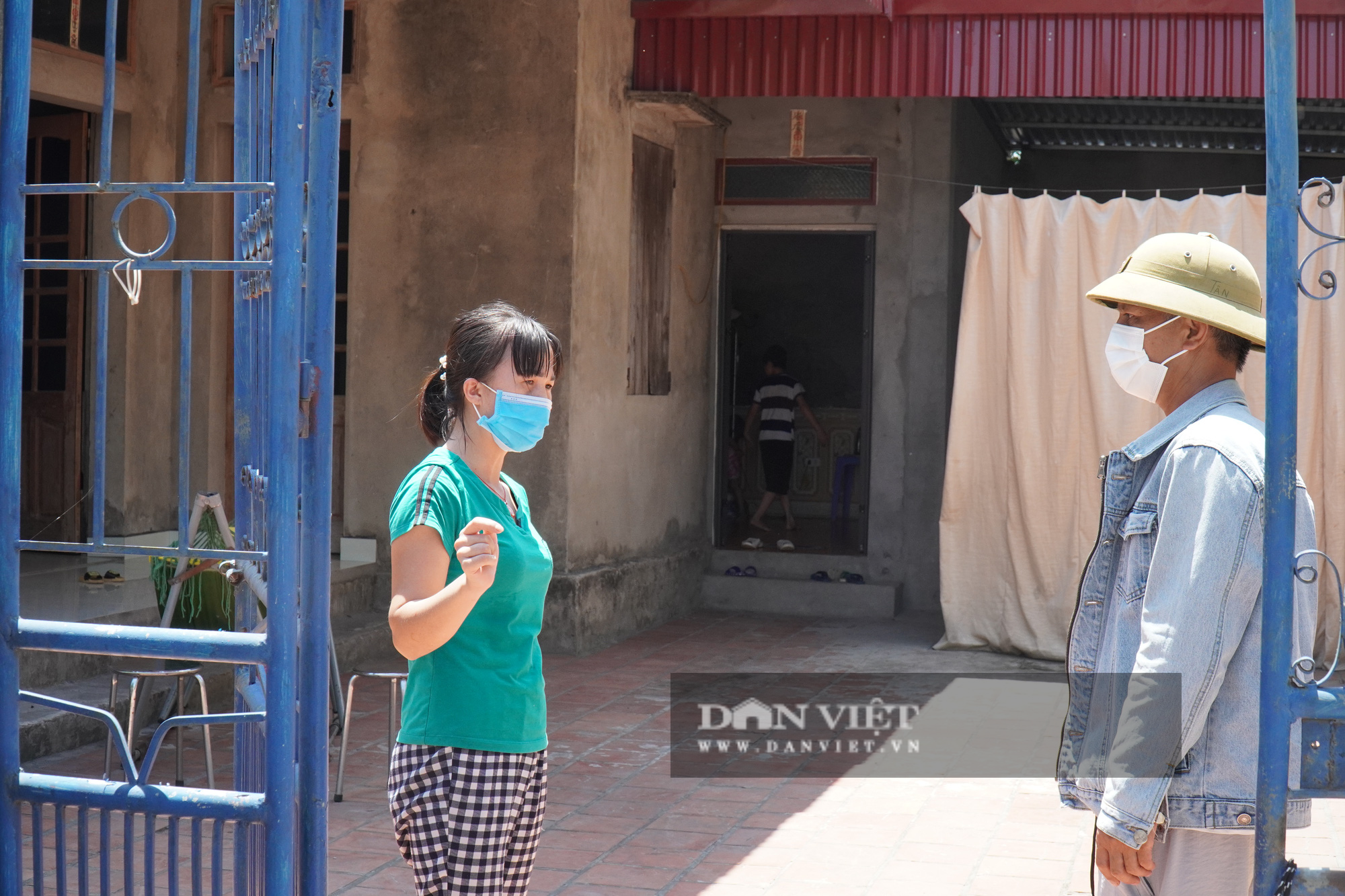 """Bắc Ninh: Cuộc sống gia đình ở """"tâm dịch"""" Mão Điền khi được nới lỏng giãn cách xã hội - Ảnh 2."""