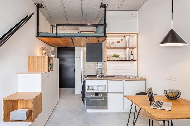Chính thức cho phép xây dựng căn hộ chung cư 25m2 - Ảnh 1.
