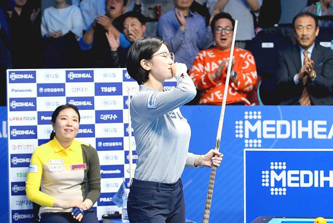 Nữ cơ thủ được mệnh danh thiên thần billiards Hàn Quốc - Ảnh 6.