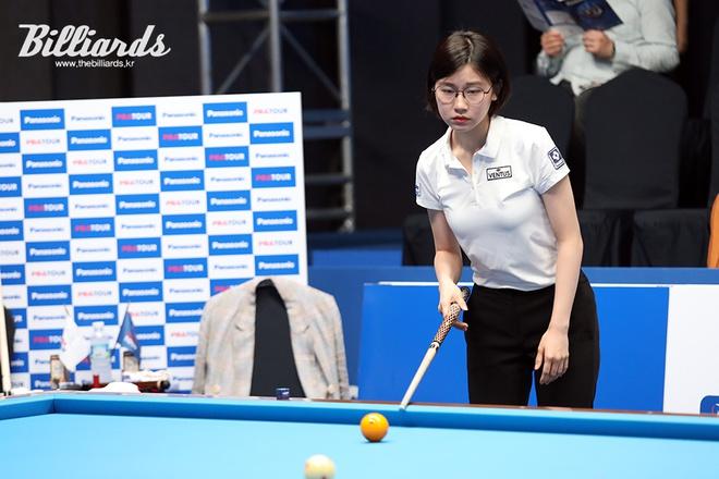 """Nhan sắc """"không phải dạng vừa đâu"""" của nữ cơ thủ người Hàn Quốc - Ảnh 5."""