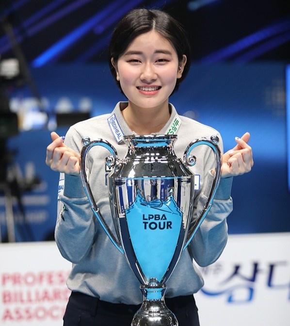 """Nhan sắc """"không phải dạng vừa đâu"""" của nữ cơ thủ người Hàn Quốc - Ảnh 6."""