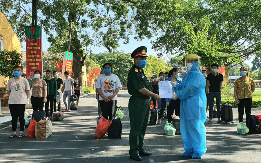 Bắc Ninh: Tiếp tục giải thể bệnh viện dã chiến số 3 điều trị bệnh nhân Covid-19 - Ảnh 2.