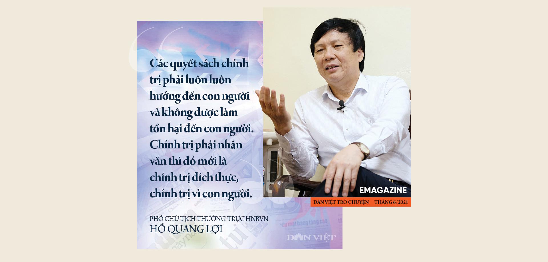 Nhà báo Hồ Quang Lợi: Dù công nghệ thay đổi ra sao, mấu chốt nghề báo vẫn là vì công lý và sự thật - Ảnh 4.
