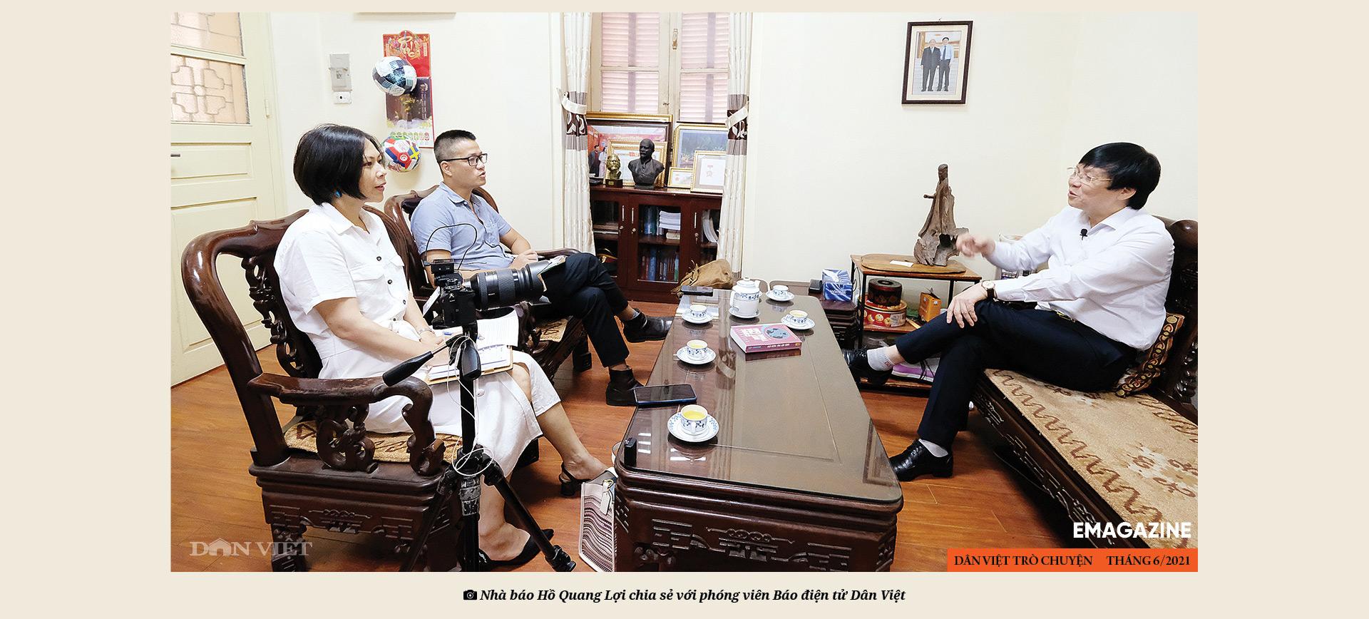 Nhà báo Hồ Quang Lợi: Dù công nghệ thay đổi ra sao, mấu chốt nghề báo vẫn là vì công lý và sự thật - Ảnh 7.