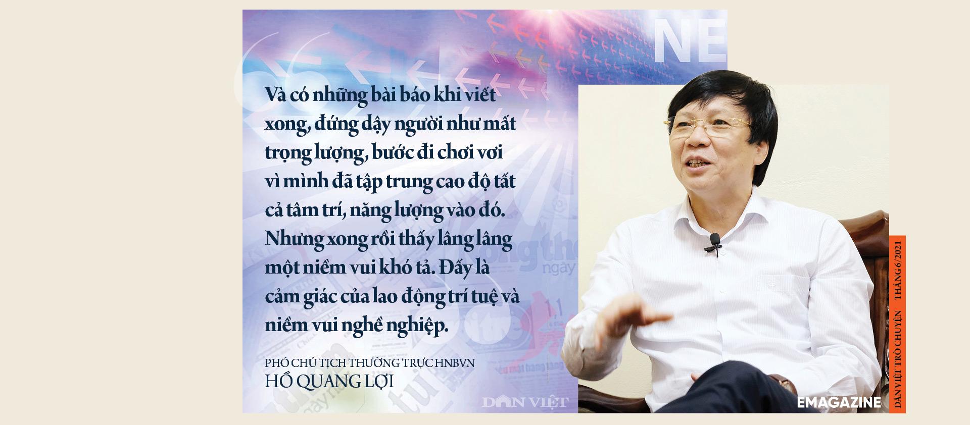 Nhà báo Hồ Quang Lợi: Dù công nghệ thay đổi ra sao, mấu chốt nghề báo vẫn là vì công lý và sự thật - Ảnh 8.