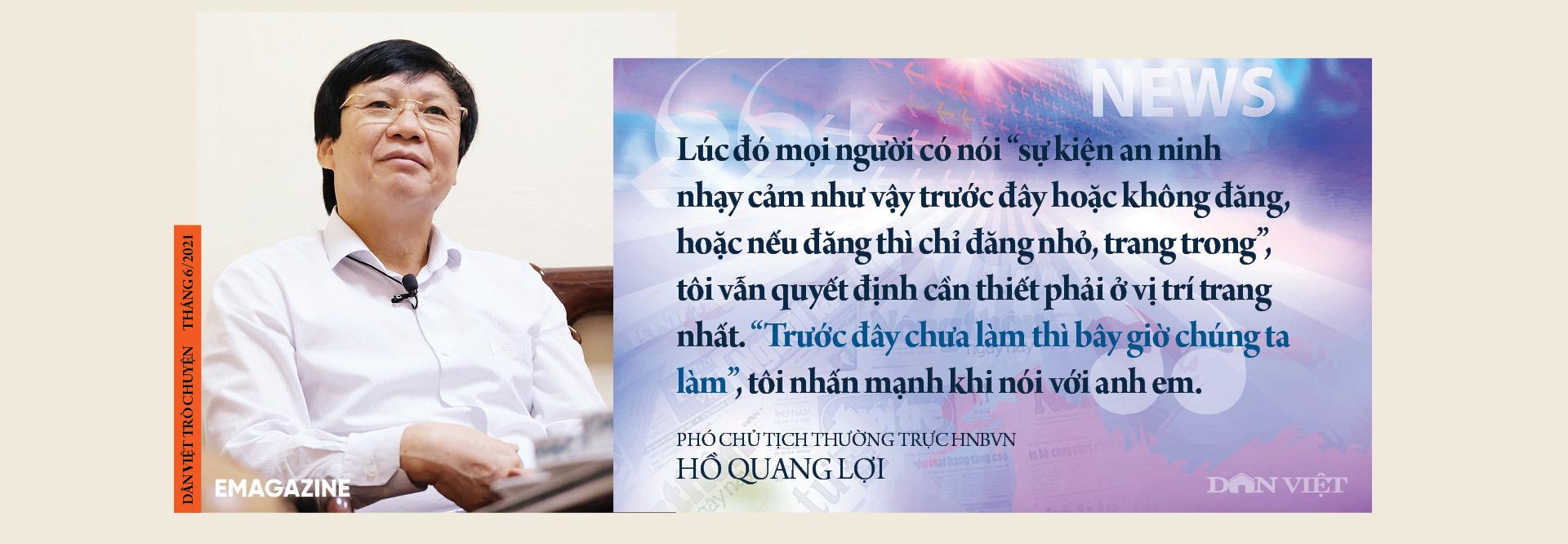 Nhà báo Hồ Quang Lợi: Dù công nghệ thay đổi ra sao, mấu chốt nghề báo vẫn là vì công lý và sự thật - Ảnh 9.
