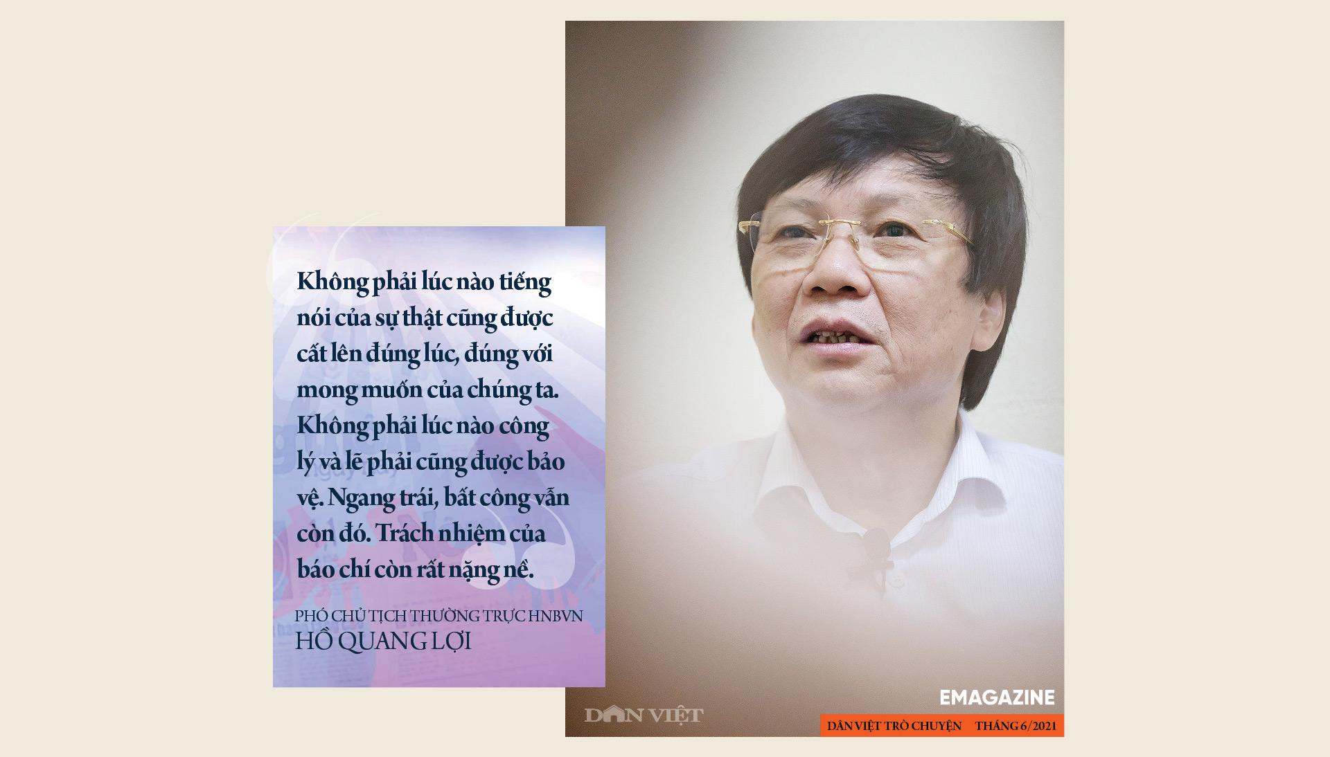 Nhà báo Hồ Quang Lợi: Dù công nghệ thay đổi ra sao, mấu chốt nghề báo vẫn là vì công lý và sự thật - Ảnh 16.