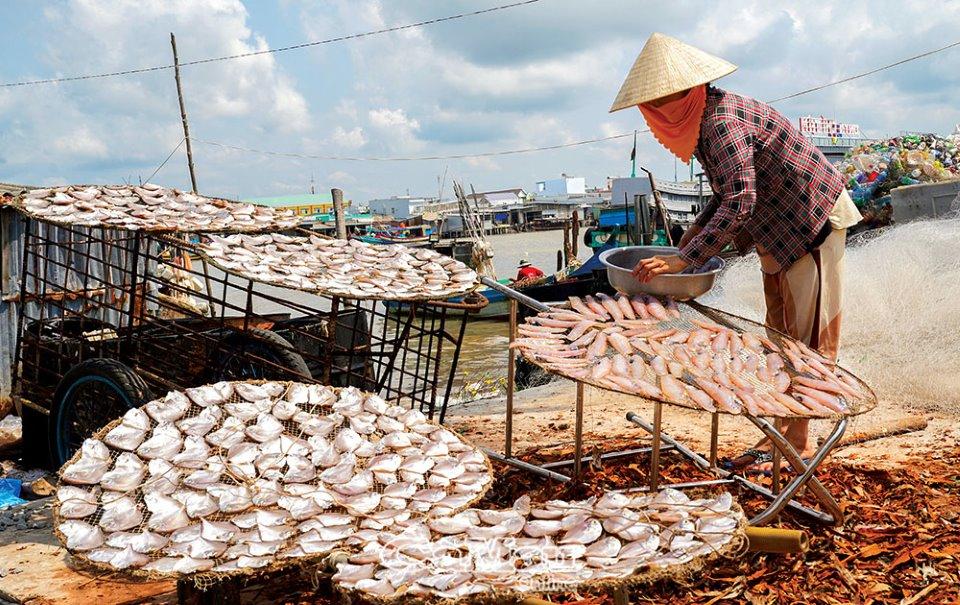 Khô cá kèo đỏ - một trong những đặc sản độc, lạ, hiếm ở xứ Tân Ân - Ảnh 5.