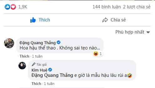 """Được """"Táo kinh tế"""" khen xinh như hoa hậu, Kim Huệ trả lời hài hước - Ảnh 3."""
