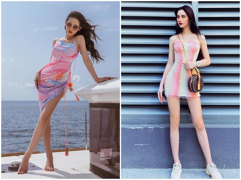 Vẻ đẹp gợi cảm của Á hậu 2 Hoa hậu Chuyển giới Việt Nam 2020 Tường Vi - Ảnh 3.