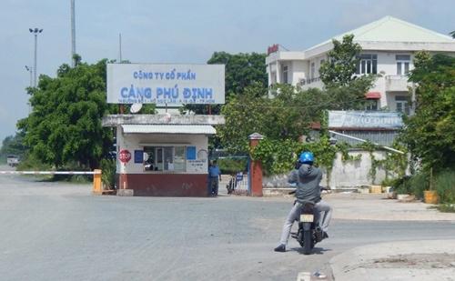 Công an điều tra dấu hiệu sai phạm tại Công ty CP Cảng Phú Định - Ảnh 1.