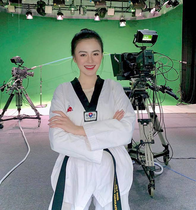 Hotgirl đai đen Taekwondo khoe sắc - Ảnh 5.