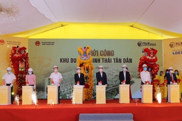 Tập đoàn T&T Group khởi công xây dựng Khu du lịch sinh thái hơn 3.600 tỷ đồng tại Thanh Hóa - Ảnh 1.