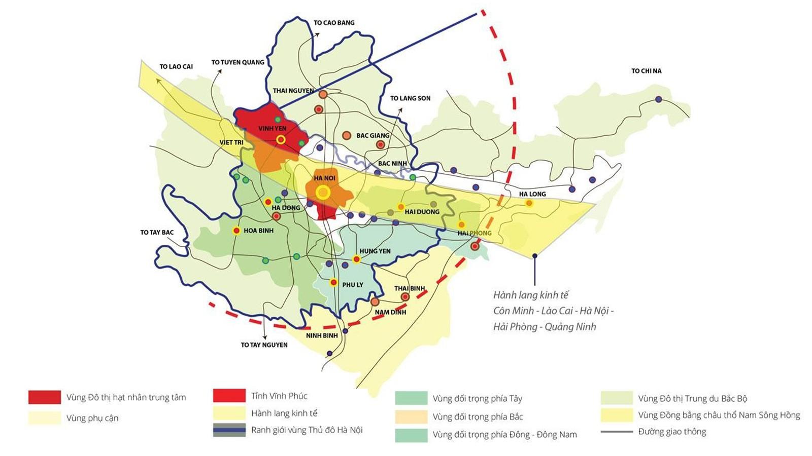 BĐS Bắc Hà Nội: Những tiềm năng to lớn và lực hút từ vùng ven - Ảnh 1.