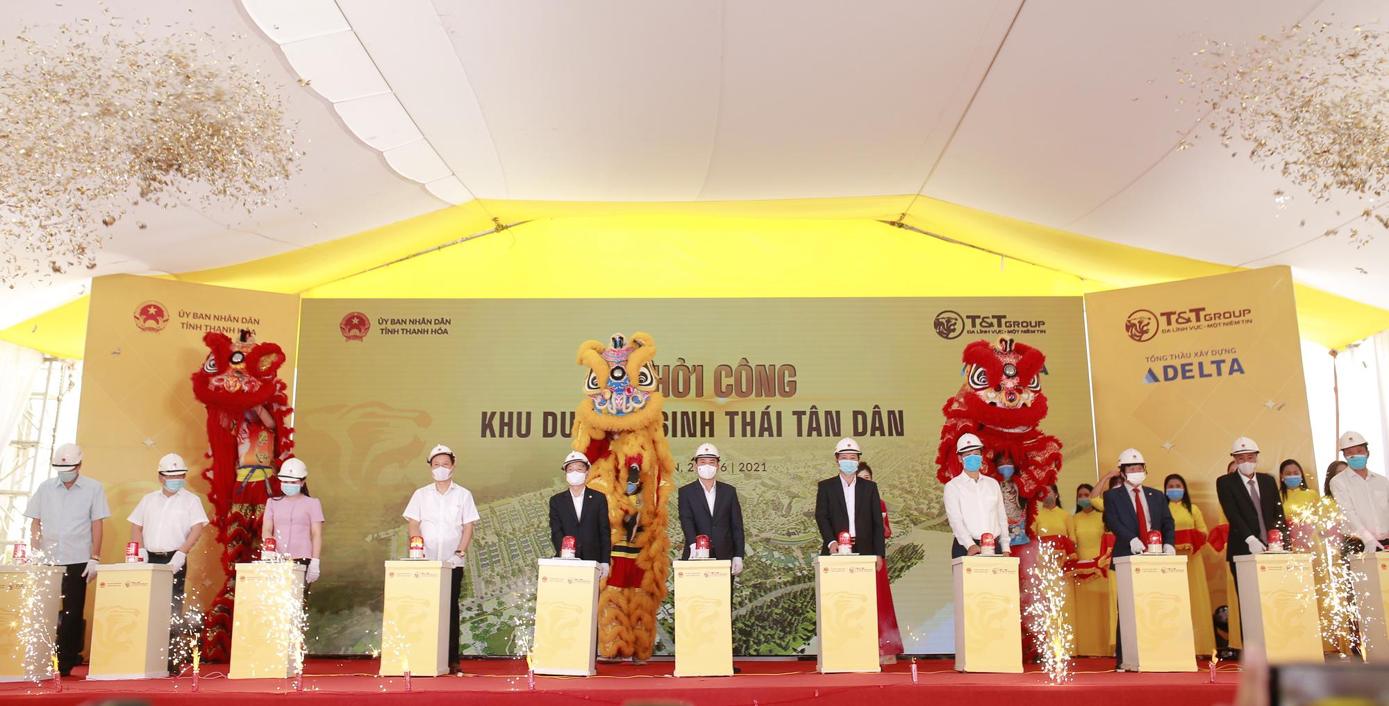 T&T Group khởi công xây dựng khu du lịch sinh thái biển tại Nghi Sơn - Thanh Hóa - Ảnh 1.