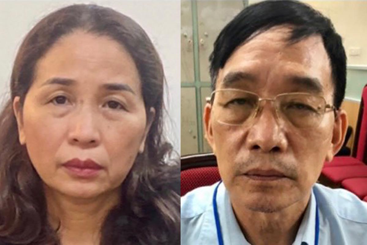 Nguyên giám đốc Sở GDĐT Quảng Ninh Vũ Liên Oanh bị bắt - Ảnh 1.