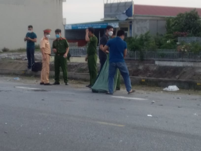 Hải Dương: Cảnh sát giao thông đi tuần gây tai nạn làm nữ sinh tử vong tại chỗ - Ảnh 1.