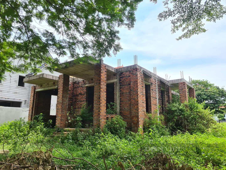 Qua nhiều cơn 'sốt đất', dự án nổi bật nhất Mê Linh vẫn la liệt biệt thự bỏ hoang - Ảnh 3.
