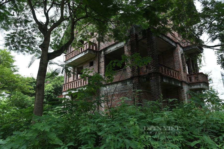 Qua nhiều cơn 'sốt đất', dự án nổi bật nhất Mê Linh vẫn la liệt biệt thự bỏ hoang - Ảnh 5.