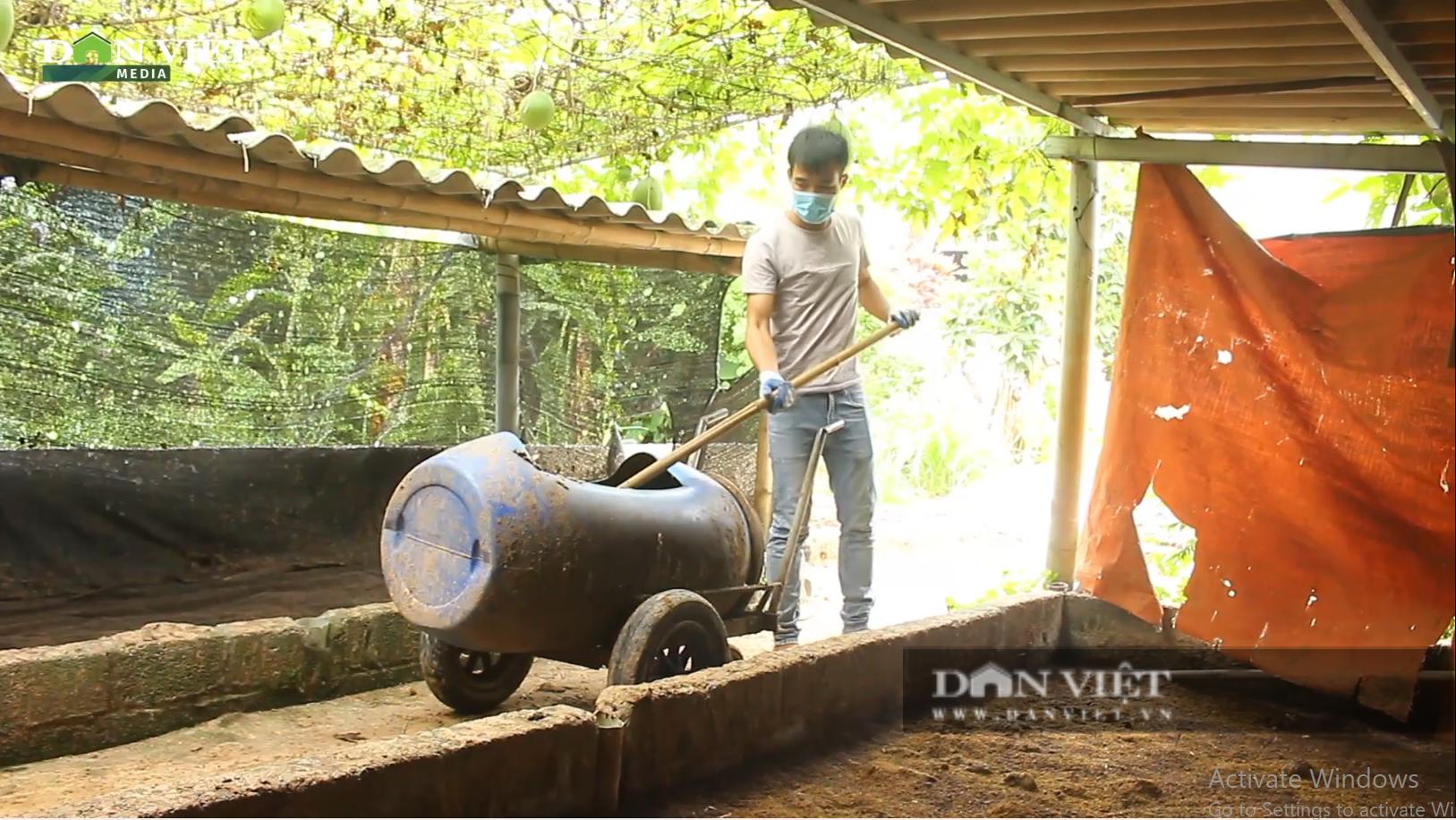 Mở trang trại nuôi giun quế từ phân bò, chàng trai 28 tuổi thành triệu phú đất Ba Vì  - Ảnh 2.
