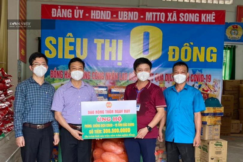 Hội Nông dân tỉnh Bắc Giang gửi lời cảm ơn tới Báo NTNN/ Điện tử Dân Việt hỗ trợ người dân vùng dịch - Ảnh 1.
