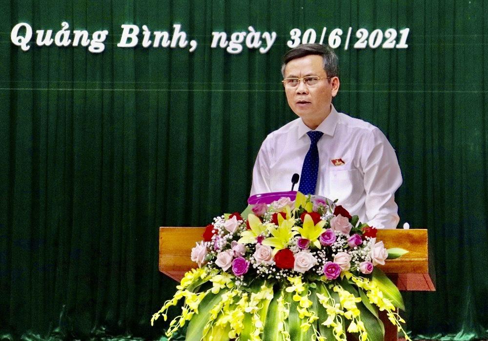 Quảng Bình: Ông Trần Thắng tái đắc cử Chủ tịch UBND tỉnh - Ảnh 3.