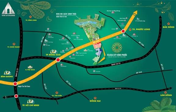 """Felicia City Bình Phước: Pháp lý hoàn thiện gắn với tiêu chuẩn """"sống xanh"""" - Ảnh 3."""