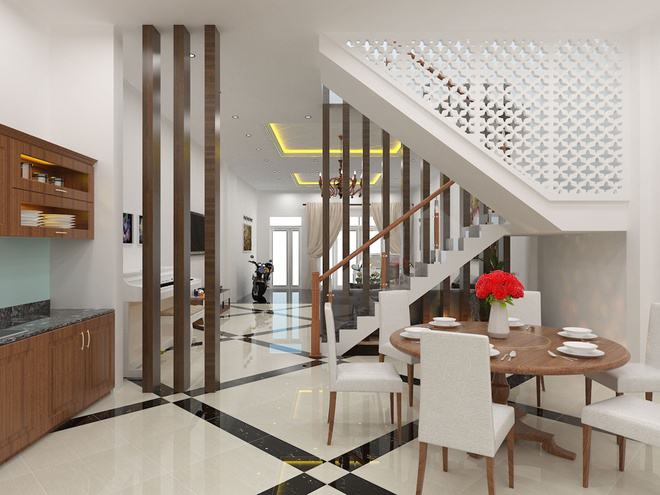 Thiết kế cầu thang hợp phong thủy, phúc lộc đến nhà, gia đình quanh năm sung túc - Ảnh 4.