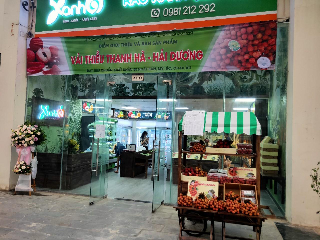 Vải thiều Thanh Hà đạt chuẩn Quốc tế được bán tại hải thành phố lớn là Hà Nội và TP Hồ Chí Minh - Ảnh 2.