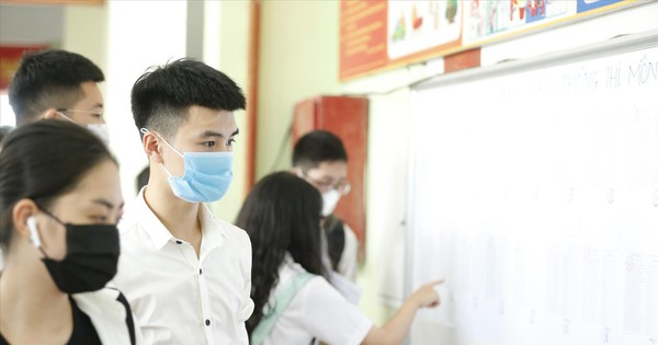 Nếu thi tốt nghiệp THPT 2021 nhiều đợt: Ðảm bảo quyền lợi xét tuyển ÐH cho thí sinh - Ảnh 1.