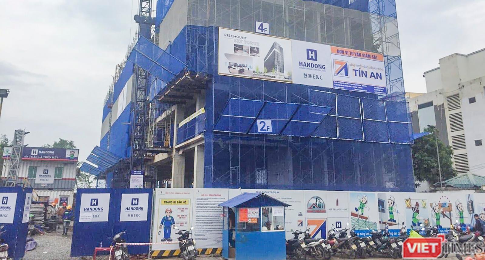 Đà Nẵng: Thêm công trình cao tầng xây sai phép bị xử lý - Ảnh 1.