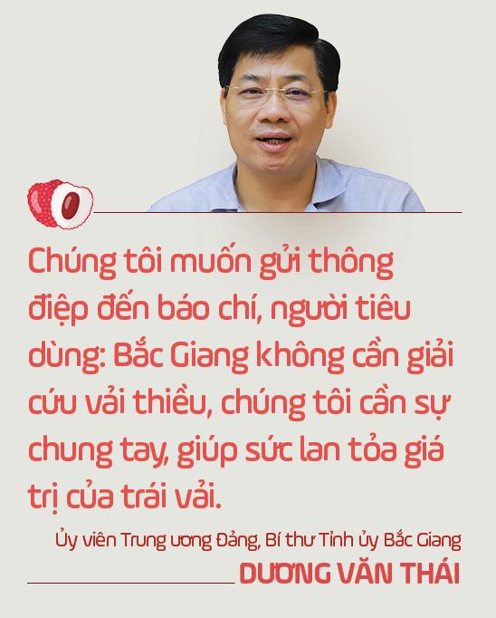 Ủy viên Trung ương Đảng, Bí thư Tỉnh ủy Bắc Giang Dương Văn Thái: Mùa vải nóng sẽ…ngọt ngào! - Ảnh 5.