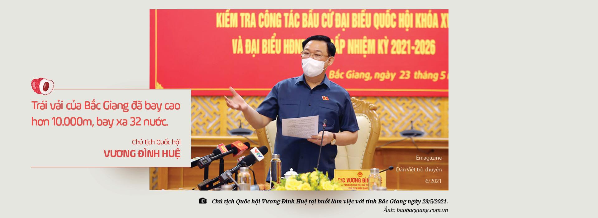 Ủy viên Trung ương Đảng, Bí thư Tỉnh ủy Bắc Giang Dương Văn Thái: Mùa vải nóng sẽ…ngọt ngào! - Ảnh 8.