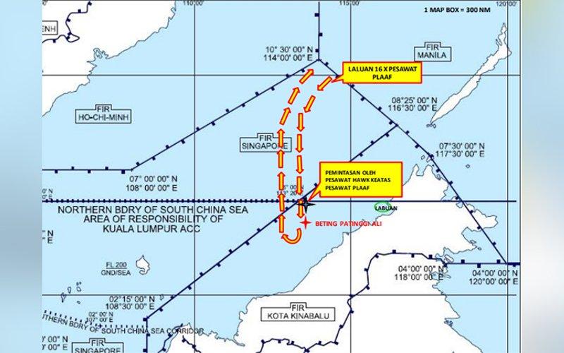 Liên tiếp quấy đảo vùng biển, Trung Quốc lại quấy đảo vùng trời Biển Đông - Ảnh 1.