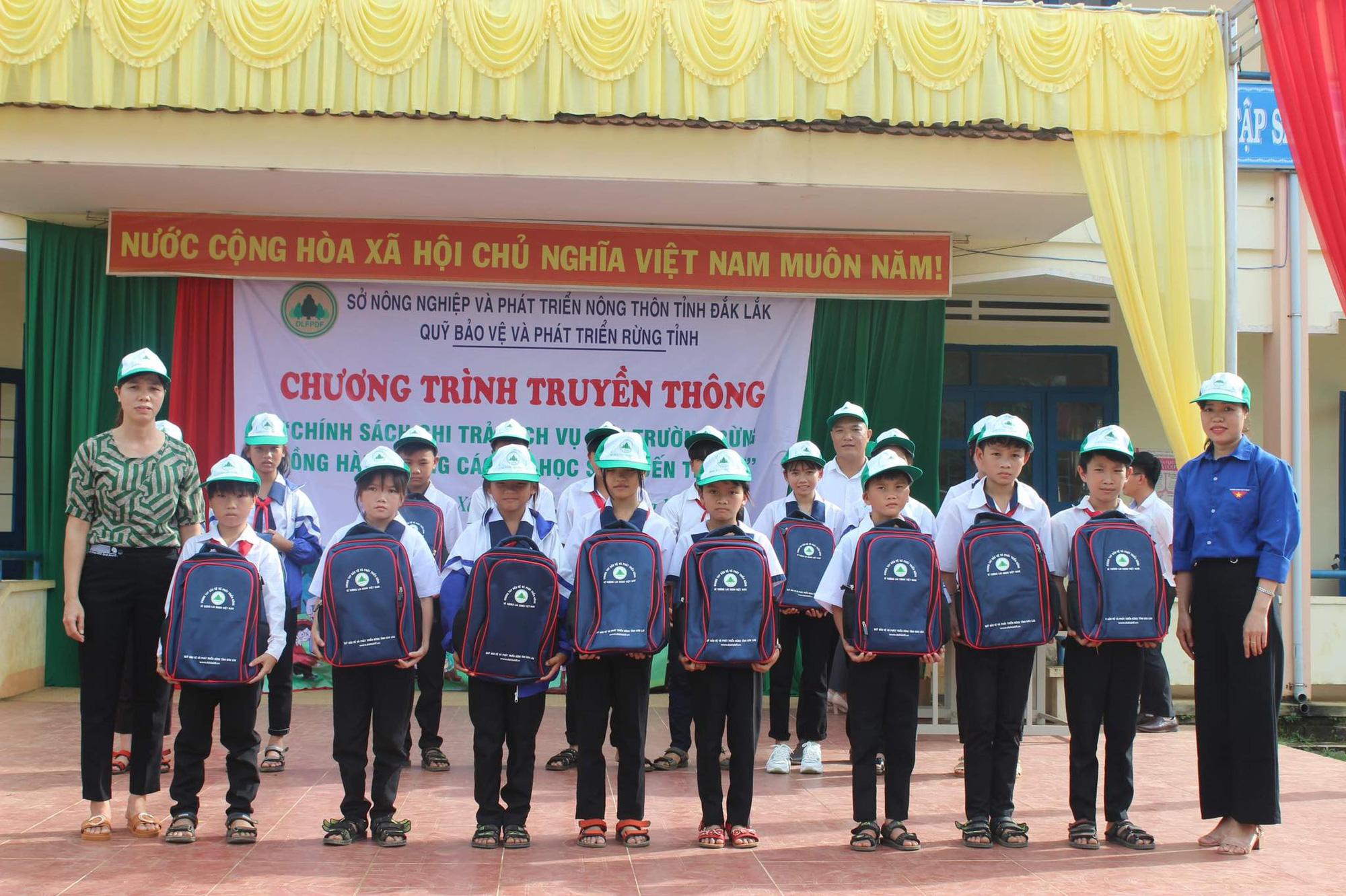 Hiệu quả từ chính sách chi trả dịch vụ môi trường rừng ở Đắk Lắk - Ảnh 1.