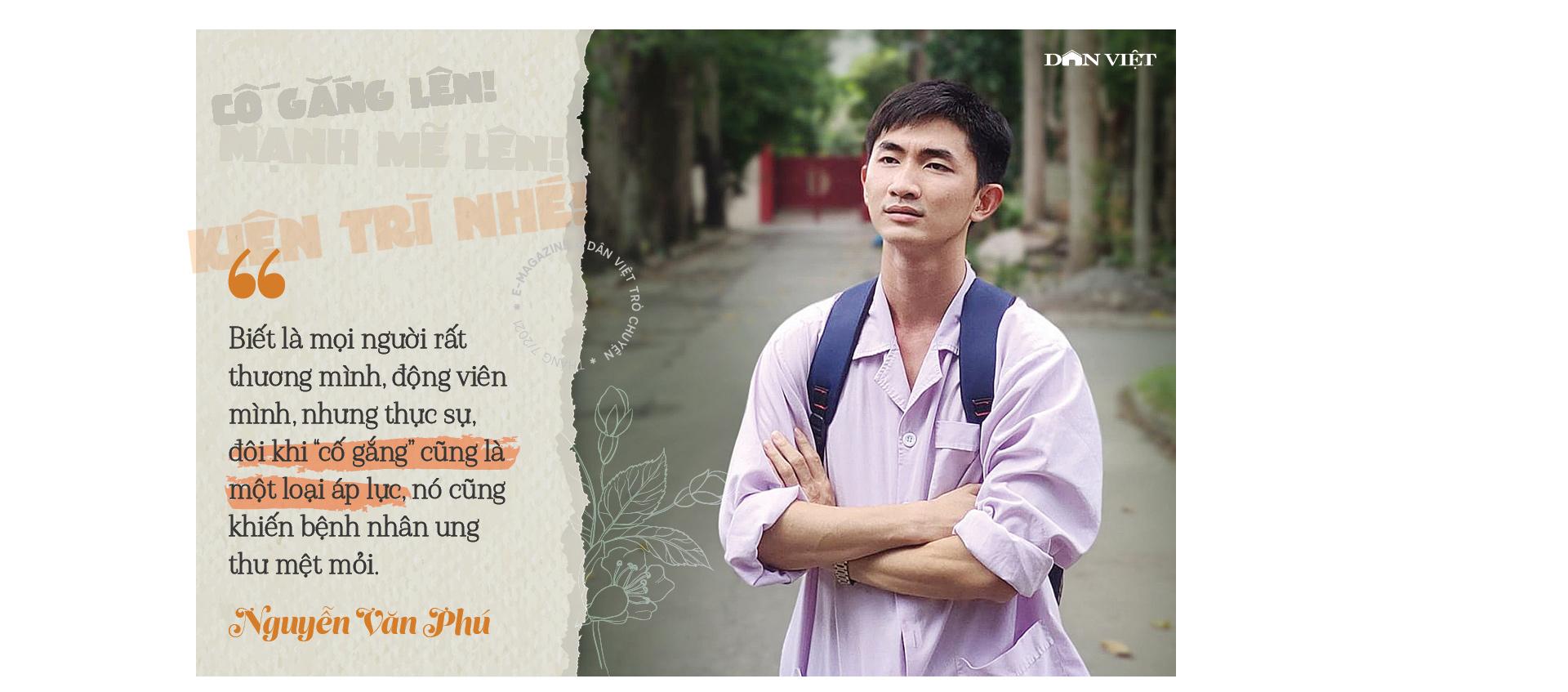 """Nguyễn Văn Phú – tác giả cuốn sách """"Bạn sinh ra để sống"""": """"Với tôi, ung thư là một món quà""""  - Ảnh 10."""