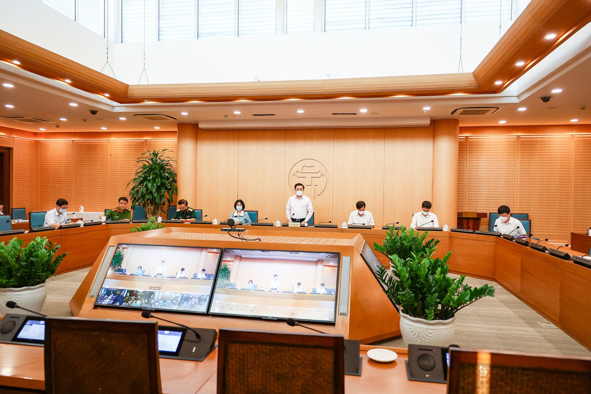 Hà Nội thông tin về việc lập 22 chốt kiểm soát người và phương tiện ở cửa ngõ ra vào Thủ đô - Ảnh 4.