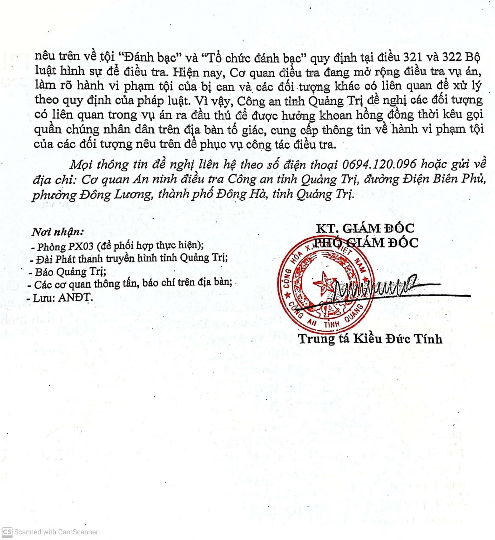 2141103355110666866752259095343994762988293n 16261684484181499680778 Quảng Trị: Bắt trùm giang hồ Tạ Việt Hùng, phá đường dây đánh bạc khủng