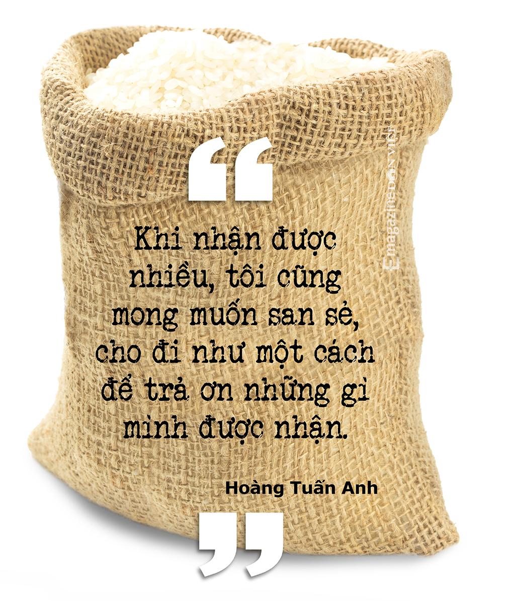 Cha đẻ ATM gạo Hoàng Tuấn Anh: TP.HCM giãn cách thì đóng bao 5kg gạo giao từng khu phong toả, xóm trọ… - Ảnh 4.