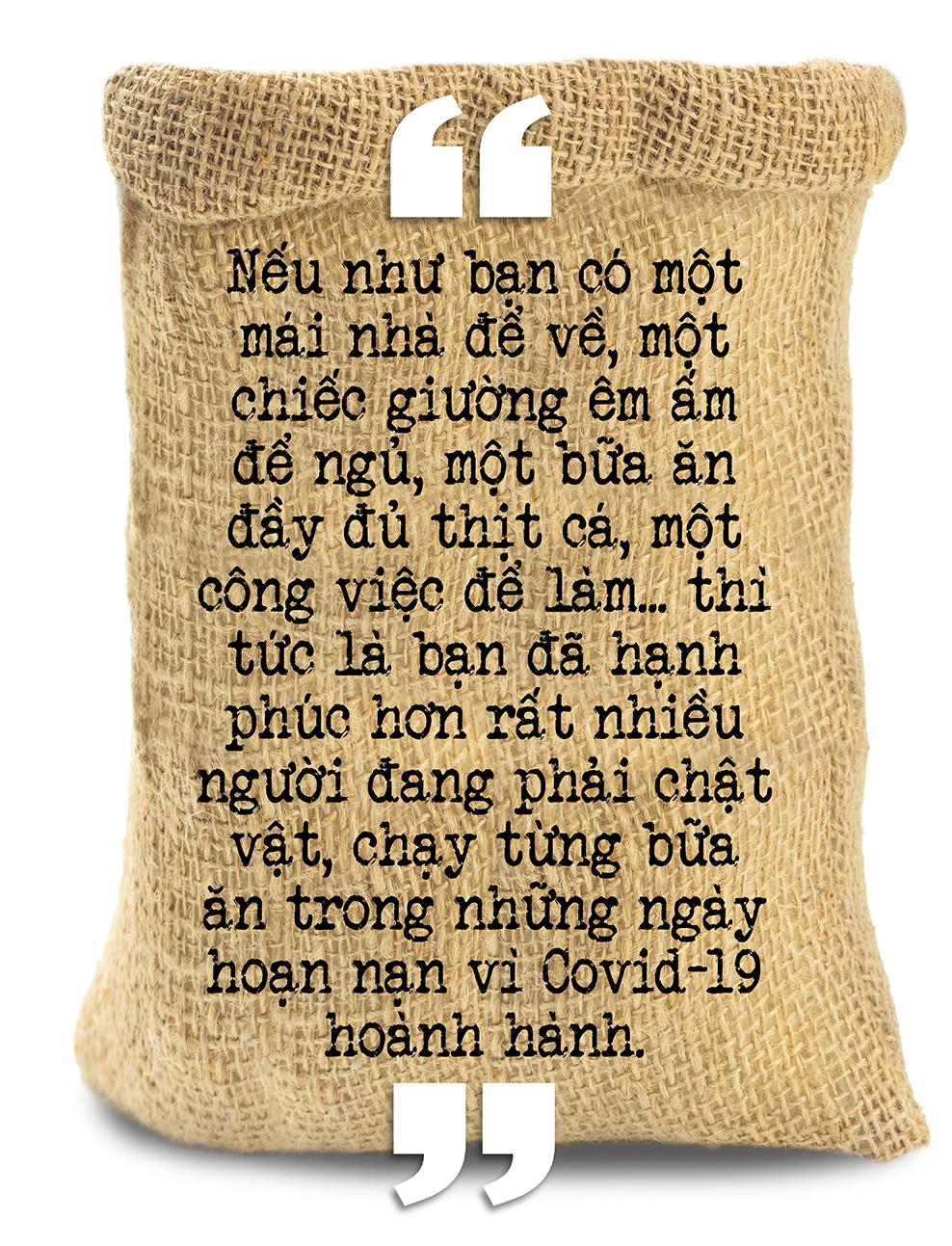 Cha đẻ ATM gạo Hoàng Tuấn Anh: TP.HCM giãn cách thì đóng bao 5kg gạo giao từng khu phong toả, xóm trọ… - Ảnh 5.