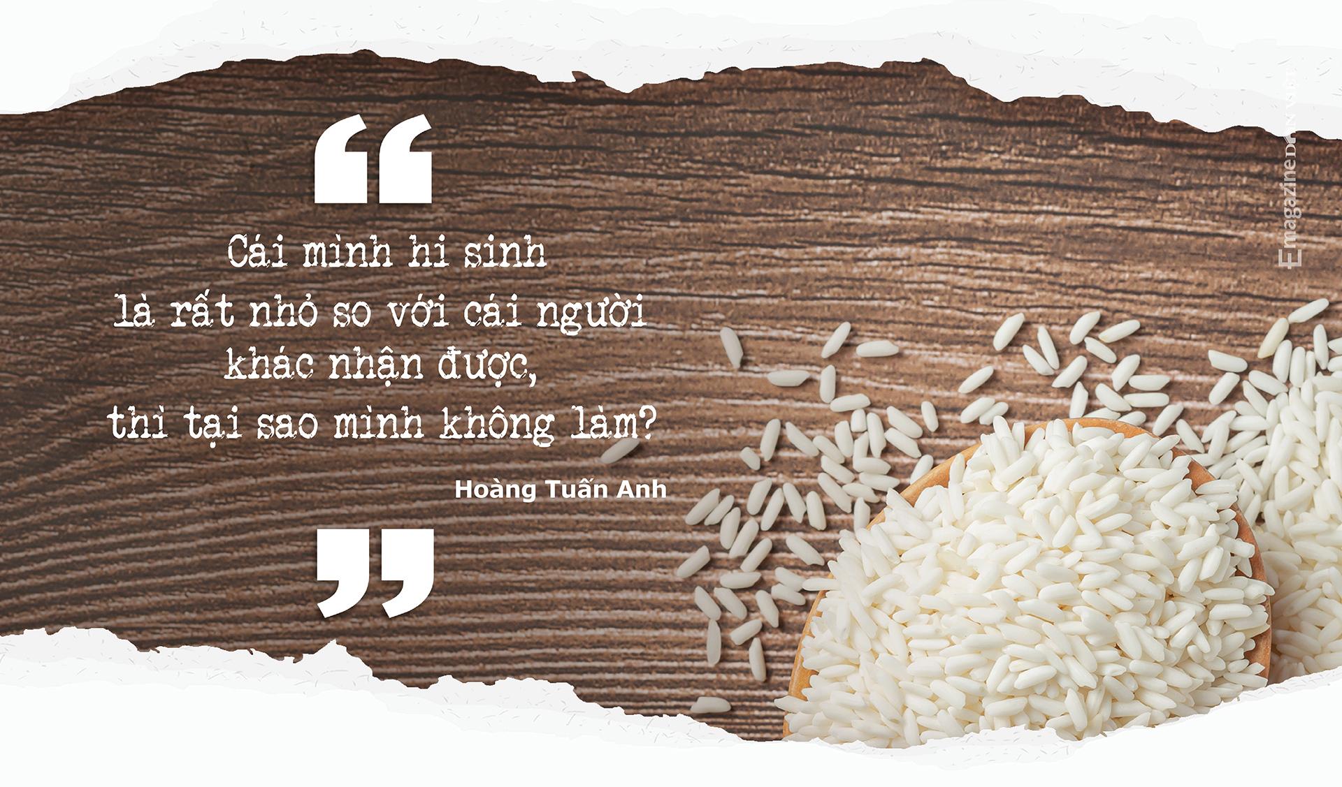 Cha đẻ ATM gạo Hoàng Tuấn Anh: TP.HCM giãn cách thì đóng bao 5kg gạo giao từng khu phong toả, xóm trọ… - Ảnh 12.