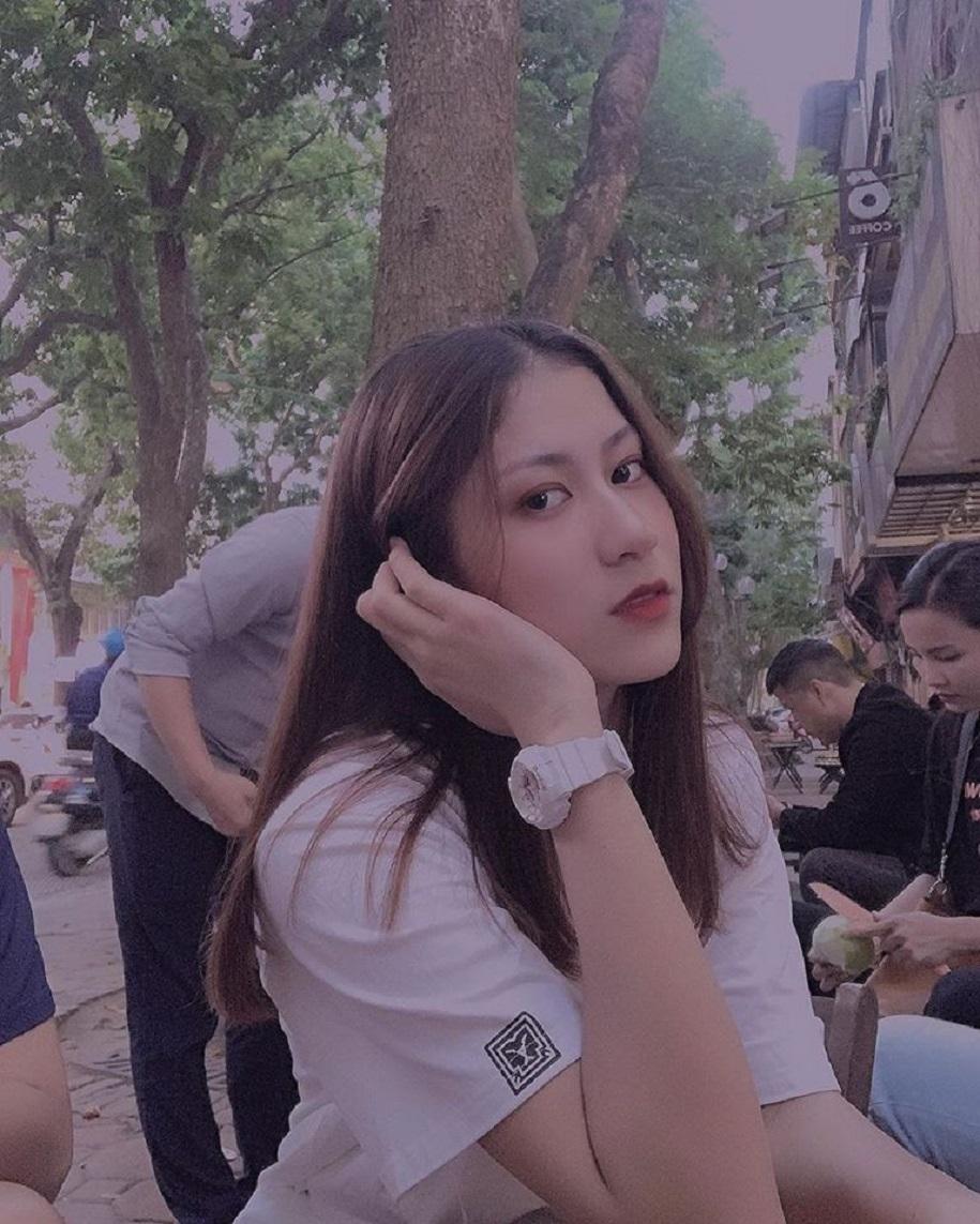 Đối chuyền xinh đẹp Hoàng Thị Kiều Trinh 1m75: Hoa khôi xuất thân nghèo khó - Ảnh 9.